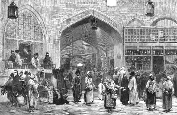 Tehran_Bazaar_old