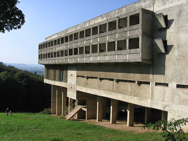 1957–1960: Sainte Marie de La Tourette, near Lyon, France
