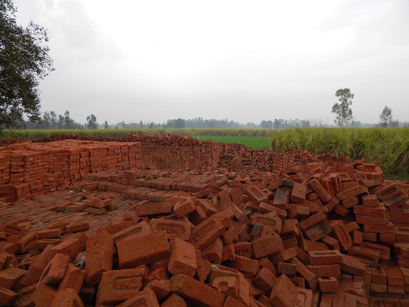 Eco-Blac Bricks. Image Courtesy of MIT Tata Center
