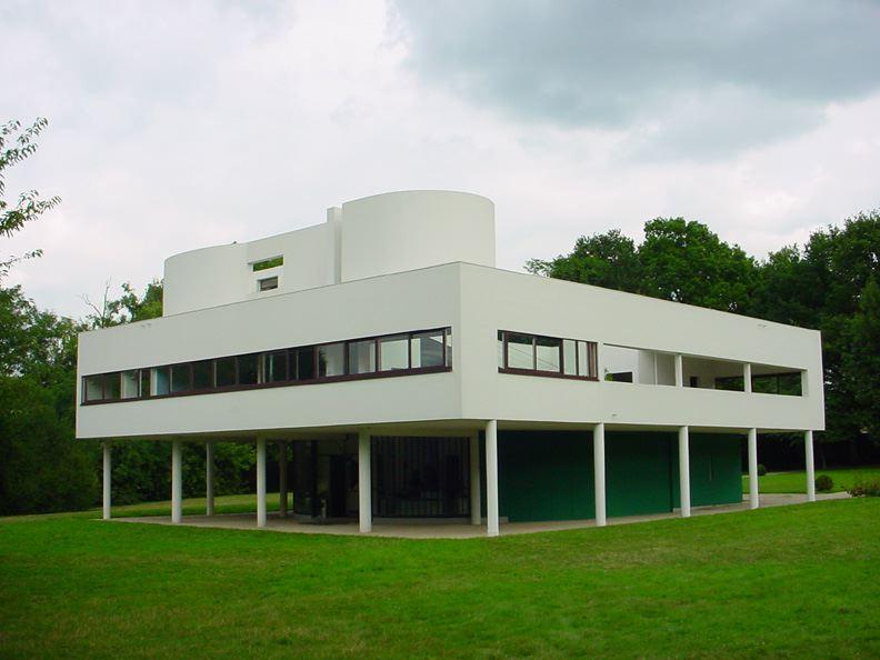 1928: Villa Savoye, Poissy-sur-Seine, France