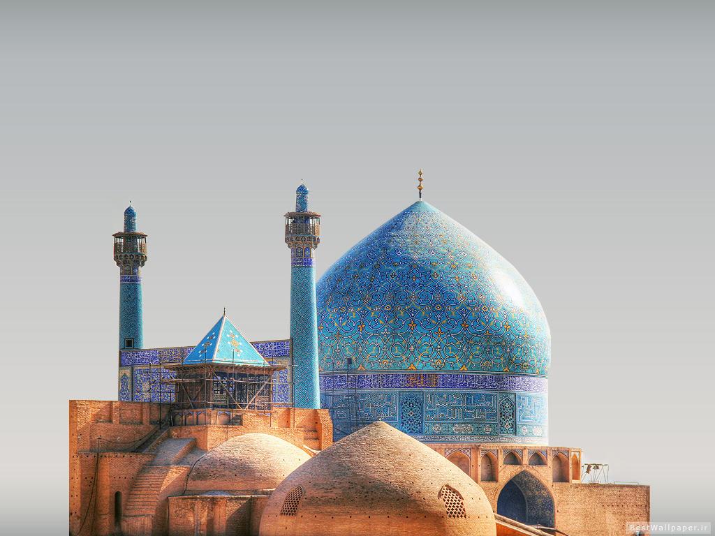 نمای شهری مسجد جامع عباسی