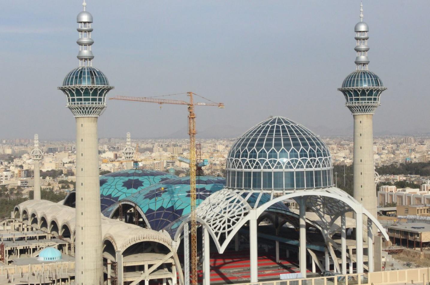 نمای شهری مصلی امام اصفهان
