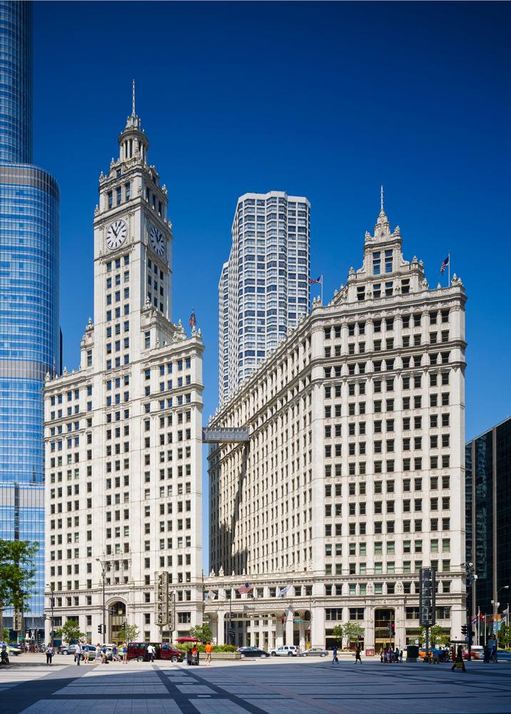 گواهینامه وایرد «گلد»/ ساختمان وایلی/ شیکاگو