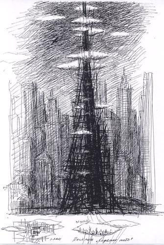 هویتهای جایگزین. برج مسکونی. ایگور خاتونتسف. 1992