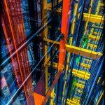 آسانسور ساختمان لیدن هال