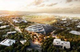 طرح معماری ساختمان گوگل