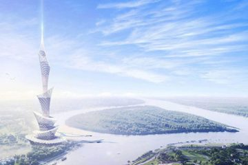 اولین آسمانخراش چاپ ۳ بعدی جهان در دبی