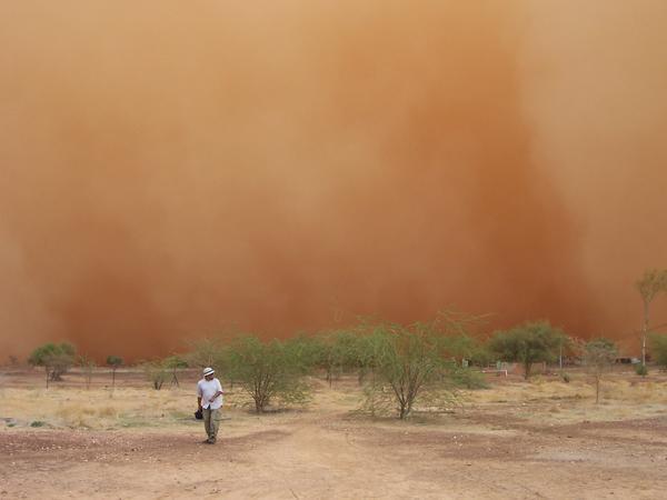 بحران ریزگرد در استان خوزستان
