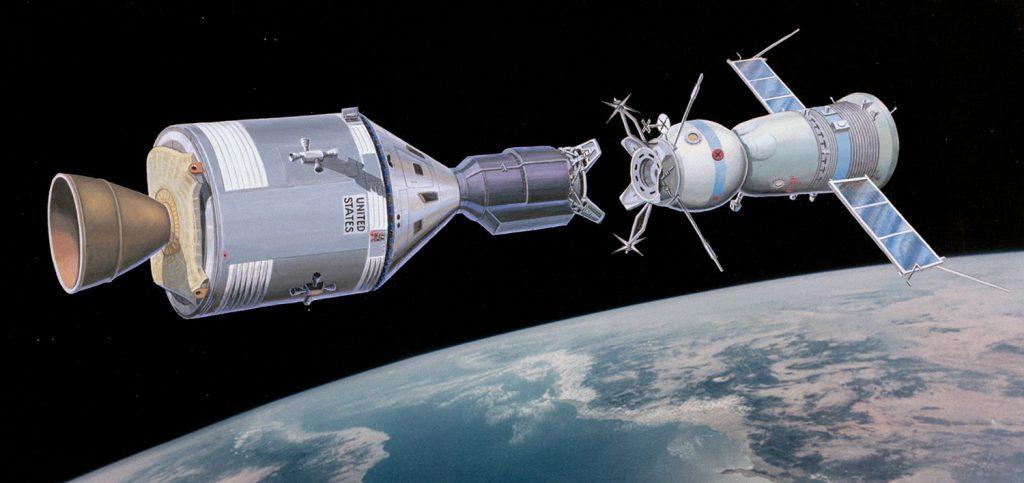 اتصال فضاپیمای آپولو به سویوز | ۱۹۷۵