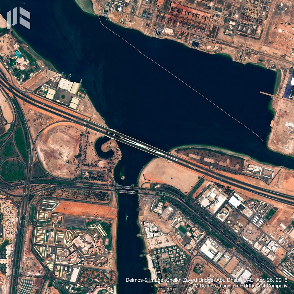 پل شیخ زاید/ ابوظبی، امارات متحده عربی