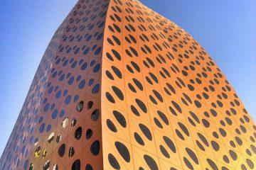 سازه و پوستهی پارامتریک جی.اف.ای | برج لیوا | ا.ان.ال ۲۰۱۴