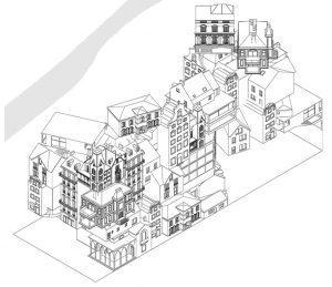 همهی پاریس در یک بنا اثر مارین و تروتین