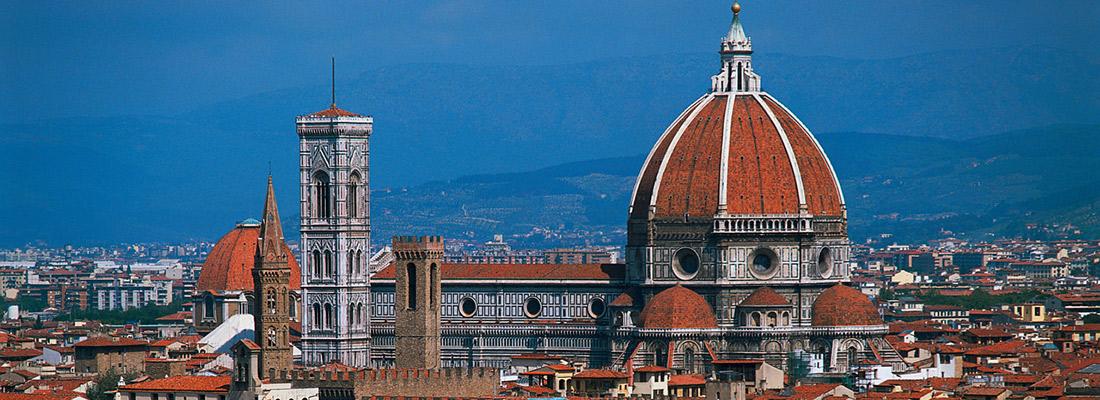 کلیسای جامع فلورانس اولین نمونه مستند برگزاری مسابقه برای معماری است.