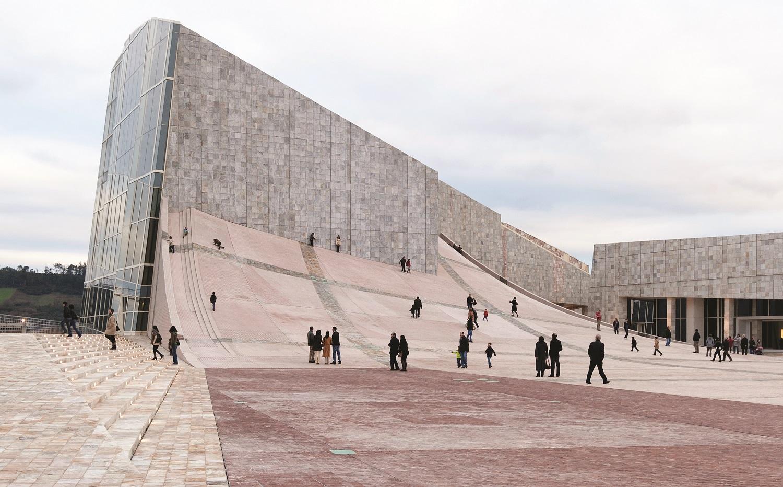 نمای غربی از مرکز فرهنگی سندیاگو