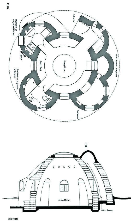 هرچند سازههای ابرخشت از مصالح سنتی استفاده میکنند اما قابلیت تطبیق بر اصول مهندسی سازه را دارند. از سویدیگر فرم این بناها فضای خلاقانه جدیدی پیشروی معماران گذاشتهاست.