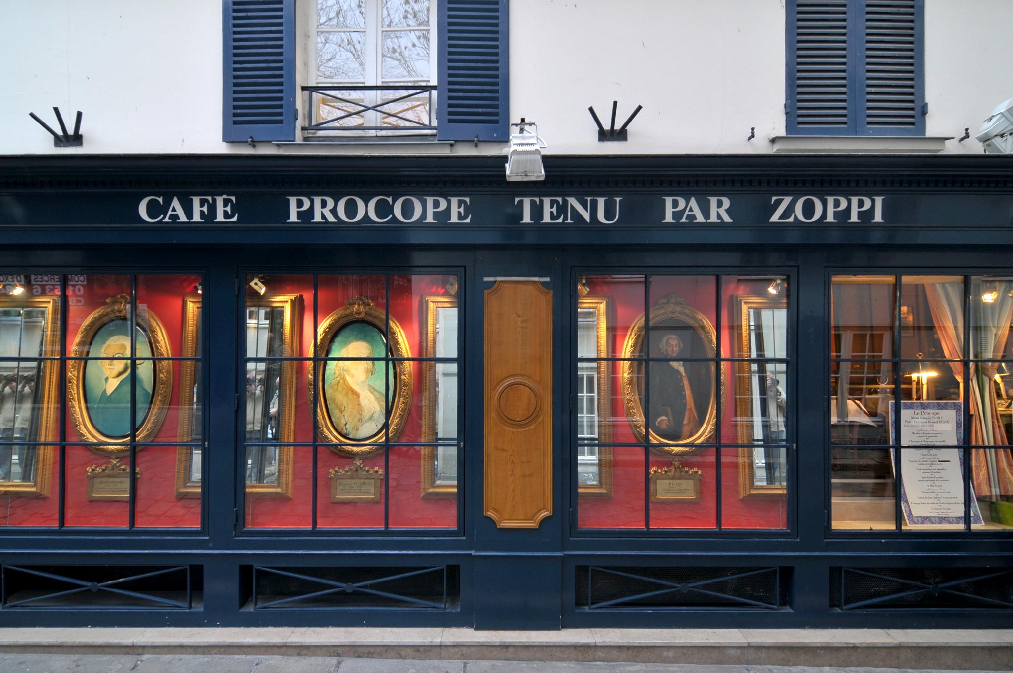 کافه پروکوپ، پاریس