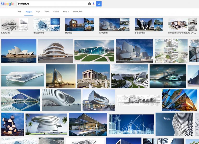 به لطف رسانهها، معماری به یک واقعیت کاذب بدل شده است. تصویر از: google images