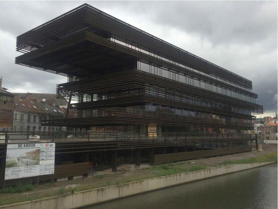 Waalse Krook Mediatheque, Gent. Belgium 2010 . 2017