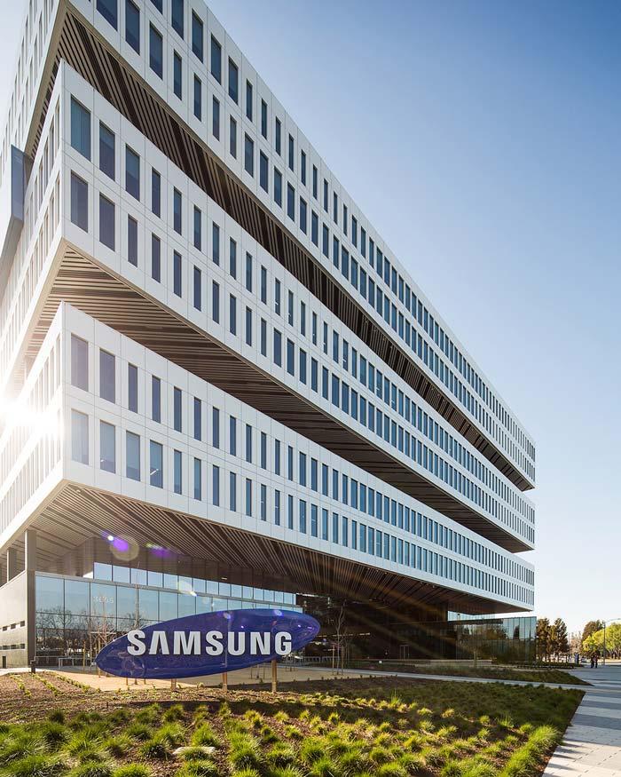 ساختمان جدید سامسونگ در امریکا